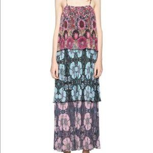 Desigual Tiered Floral Dress~M